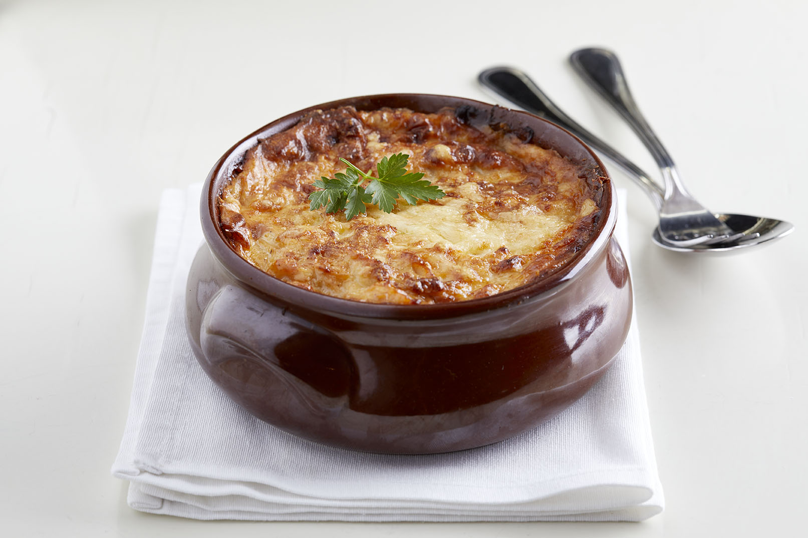 Moussaka(1) in a Clay Pot