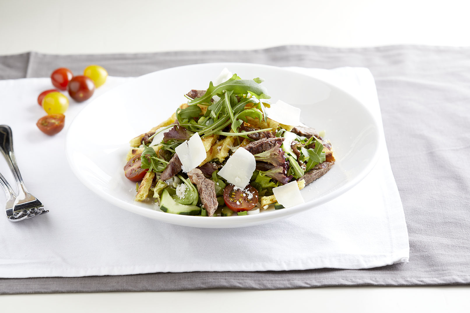Sirloin Beef Mixed Salad