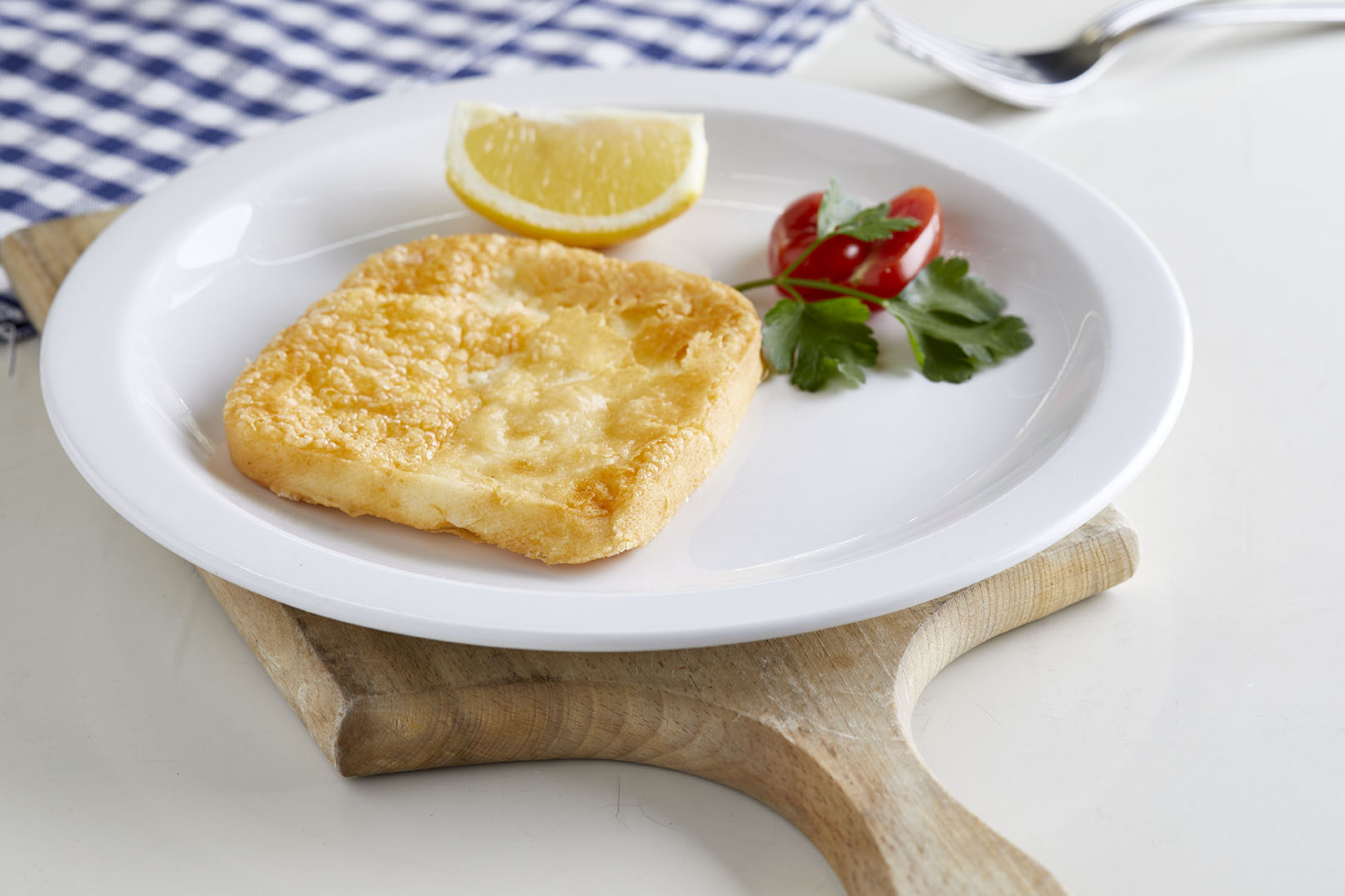 Pan-Fried Kefalograviera Cheese